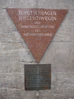 Berlin Pink Triangle Memorial