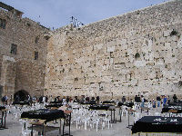 An upset looking Western Wall (Public Domain Photo)